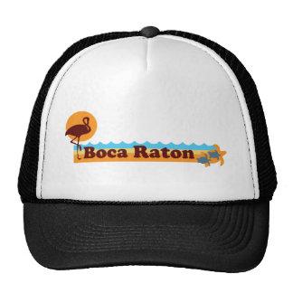Boca Raton - diseño de la playa Gorras