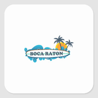 Boca Raton - diseño de la resaca