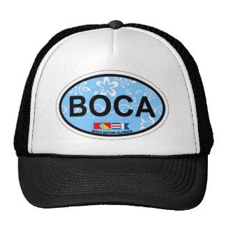 Boca Raton - diseño oval Gorra