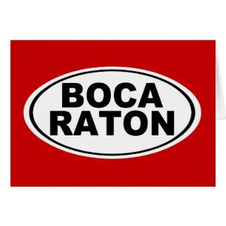 Boca Raton Florida Card