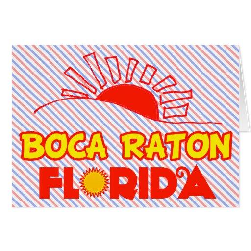Boca Raton, Florida Greeting Card