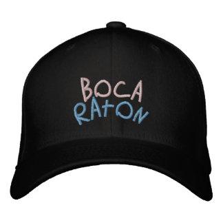 Boca Raton Florida Hat Mild Curve Embroidered Hat