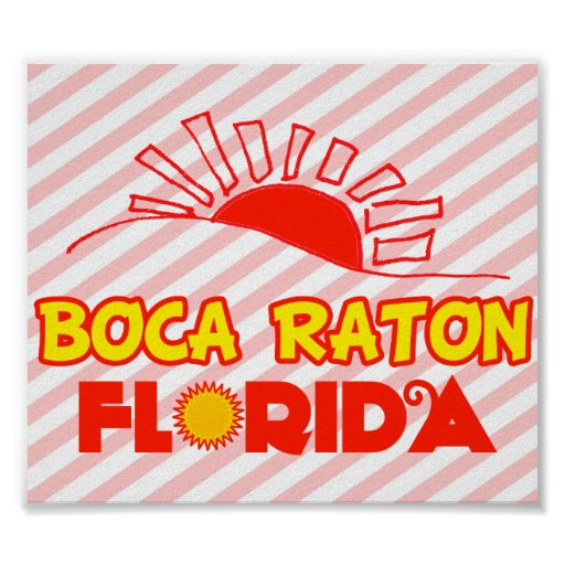 Boca Raton, Florida Poster