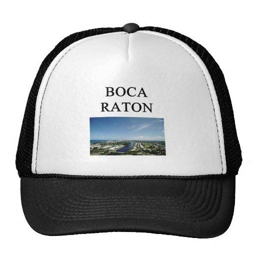 Boca Raton Gorros Bordados