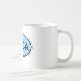 Boca Raton - Oval Design. Coffee Mug