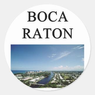 Boca Raton Pegatina