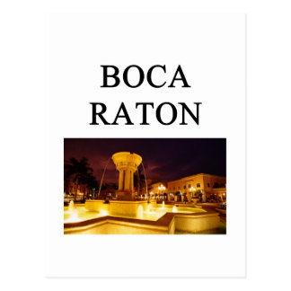 boca raton postcard