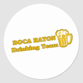 Boca Raton que bebe las camisetas del equipo Etiquetas