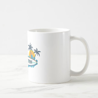 Boca Raton - Surf Design. Coffee Mug