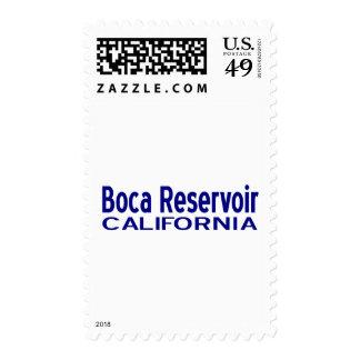 Boca Reservoir Postage Stamps