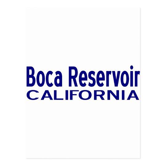 Boca Reservoir Postcard