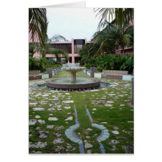 Boca Resort Garden Card