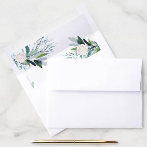 Boca Wedding Envelope Liner Option 2