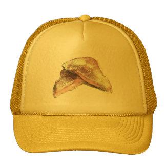 Bocadillo asado a la parrilla del queso gorras de camionero