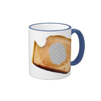 Bocadillo asado a la parrilla personalizable del taza de dos colores