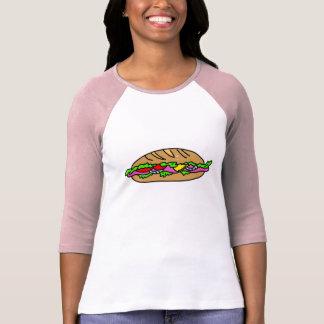 Bocadillo de jamón camiseta