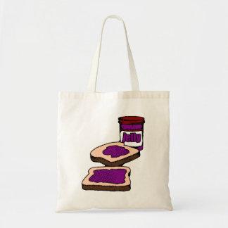 Bocadillo de la jalea de uva bolsa