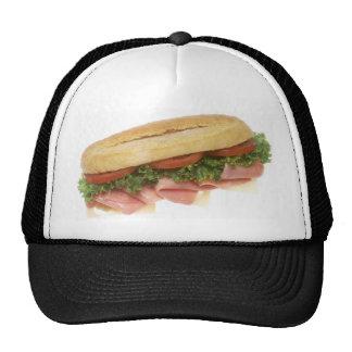 Bocadillo de la tienda de delicatessen gorras