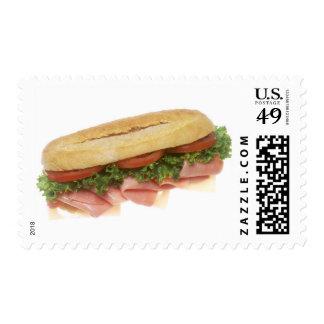 Bocadillo de la tienda de delicatessen sello