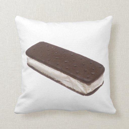 Bocadillo del helado almohada