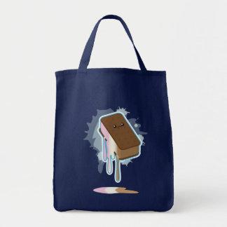 Bocadillo del helado bolsa tela para la compra