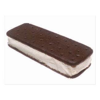 Bocadillo del helado postal