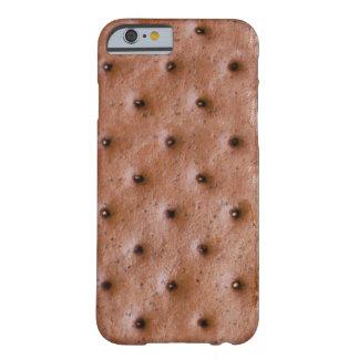 Bocadillo divertido del helado funda de iPhone 6 barely there