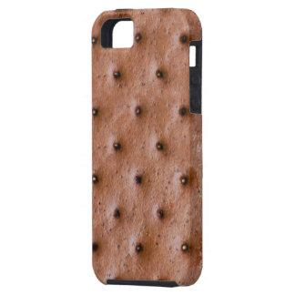 Bocadillo divertido del helado iPhone 5 fundas