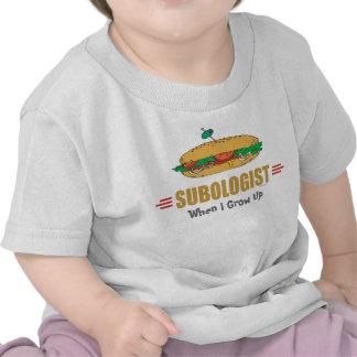 Bocadillo submarino divertido camiseta
