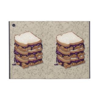 Bocadillos de la mantequilla y de la jalea de caca iPad mini cobertura