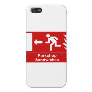 Bocadillos de Porkchop iPhone 5 Carcasa