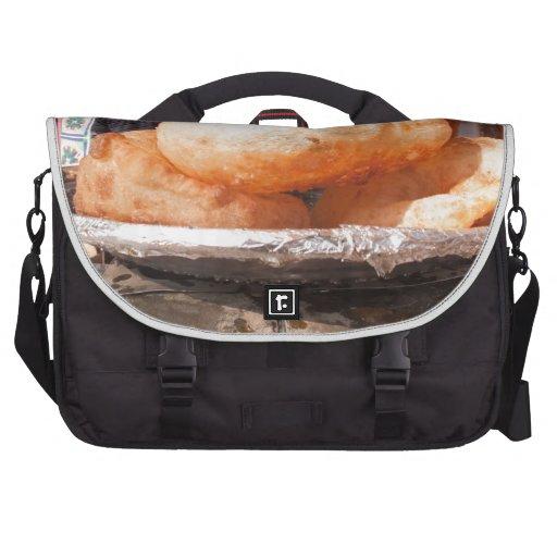 Bocado frito indio bolsas para portatil