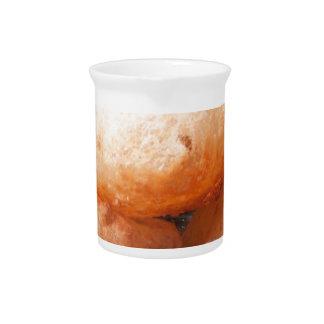 Bocado frito indio jarra para bebida
