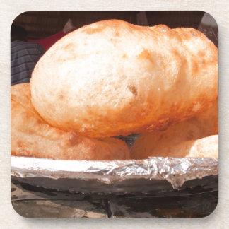 Bocado frito indio posavasos