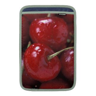 Bocados de la comida de la fruta de la cereza de funda para macbook air