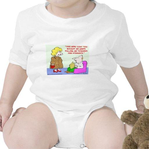 bocas de incendios de la capa de visión trajes de bebé