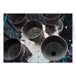 Bocas de Satern V Rocket Felicitación