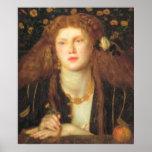 Bocca Baciata - Dante Gabriel Rossetti Print