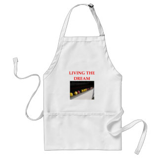 bocce adult apron