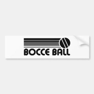 Bocce Ball Bumper Sticker