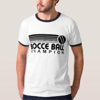 Bocce Ball Champion T Shirt