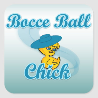 Bocce Ball Chick.png#3 Square Sticker