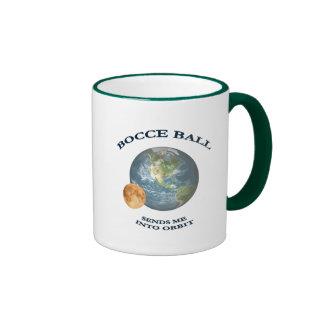 Bocce Ball Orbit Ringer Coffee Mug