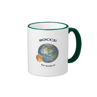 Bocce Ball World Ringer Coffee Mug
