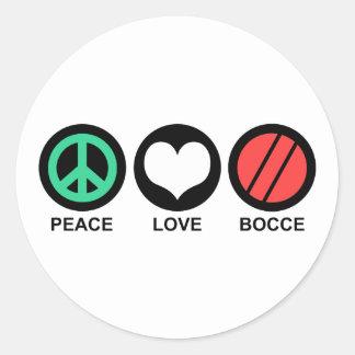 Bocce Classic Round Sticker