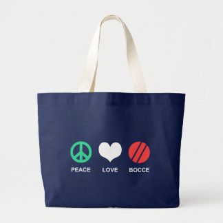 Bocce Large Tote Bag