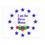 Bocce Mama Postcard