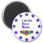 Bocce Mama Refrigerator Magnets