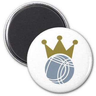 Boccia boule champion 2 inch round magnet