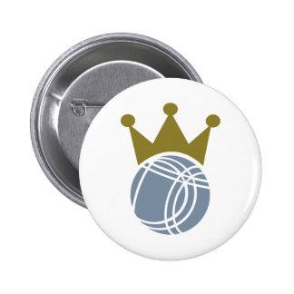 Boccia boule champion 2 inch round button